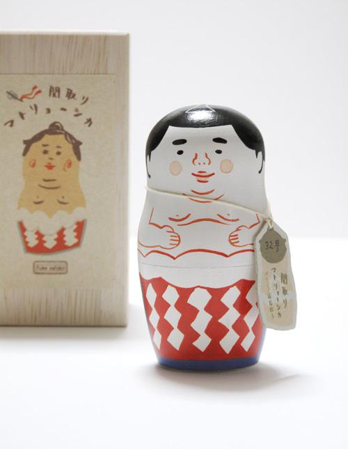 福家聡子 関取マトリョーシカ