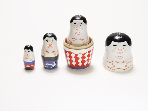 福家聡子 相撲マトリョーシカ