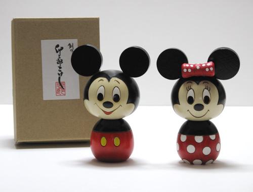ミッキー、ミニーマウス